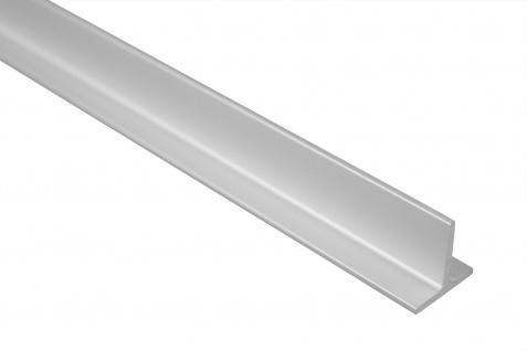 2 Meter Bastlerleiste T-Profil Alu Eloxiert Belastbar Effector 20x20mm B90