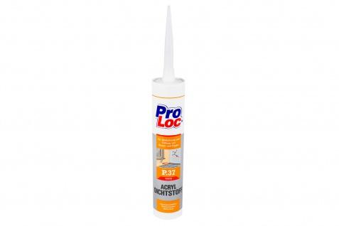 1 Kartusche Acryl Dichtungsmasse Füllstoff witterungsbeständig ProLoc P37