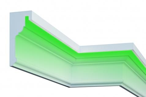 Fassade LED Stuck EPS PU Fassadenleisten wetterfest 125x285mm Sparpaket KC308