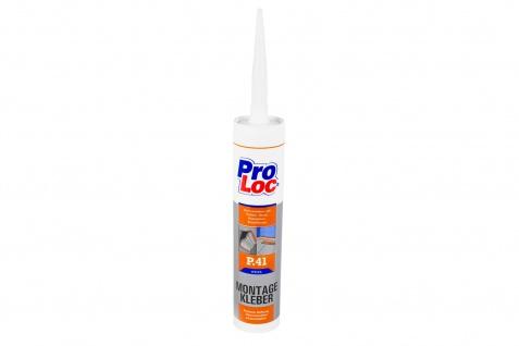 1 Kartusche Montagekleber Baukleber hohe Haftung frostfest weiß ProLoc P41