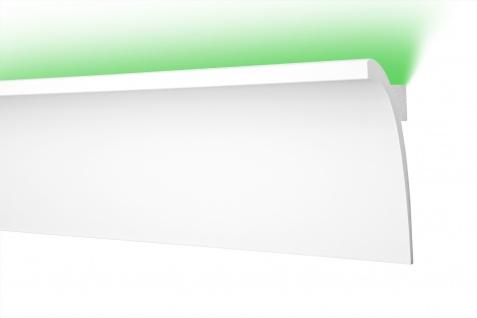LED Stuckleisten aus HDPS - hochdichtes Styropor, leicht & schlagfest - Cosca LED-Leisten