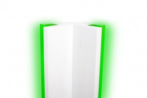 1, 15 m | LED Profil | XPS | Trockenbau | Rigips | Tesori | 95x95mm | KD203
