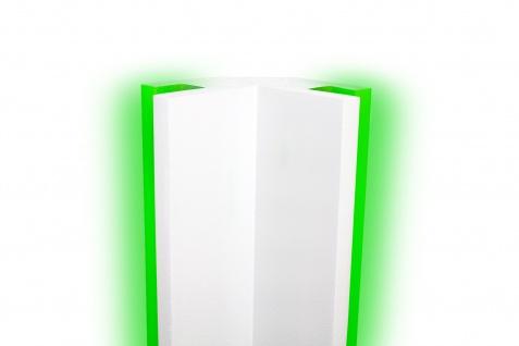 1, 15 Meter LED Profil XPS Stuck Trockenbau Tesori 95x95mm KD203