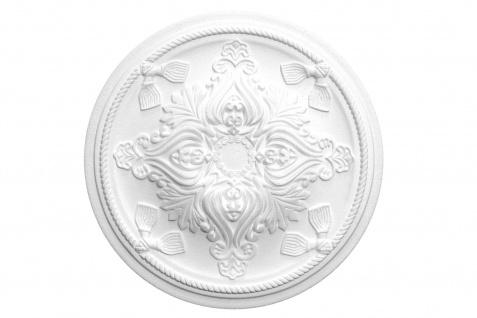 1 Rosette | Decke Stuck Innendekor EPS Dekor Marbet Durchmesser 43cm R-13