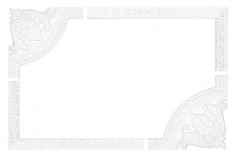 Wand- und Deckenumrandung   Fries   Stuck   Rahmen   stoßfest   AC225