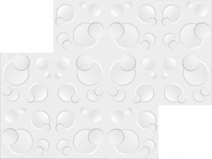 1 qm 3D Platten Natur Stuck ökologisch Paneele 3D Elite Panels 50x50cm Wendy - Vorschau 3