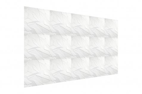 3D Wandpaneele Styroporplatten Wandverkleidung Wanddekor Paneel Sapphire 1 Platte - Vorschau 4