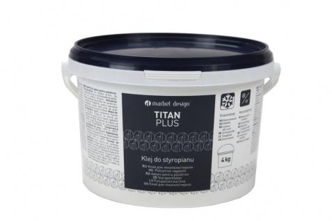 4 kg Styroporkleber Acrylkleber mittlere Klebekraft weiß frostfest Titan Plus