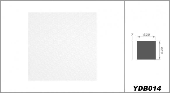 Rasterdeckenplatten 62x62cm, PVC Kunststoffplatten - foliert, wasserfest, stabil - Sparpaket - Vorschau 3