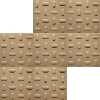 1 qm 3D Paneele Wand Decke Verkleidung Wandplatten Sparpaket 50x50cm Hexim Tabs Sand - Vorschau 2