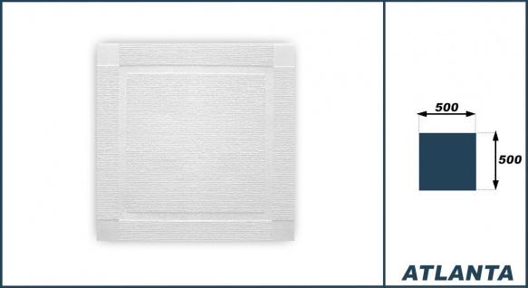 Sparpaket Deckenplatten Polystyrolplatten Decke weiß Dekor Platten 50x50cm Atlanta - Vorschau 3
