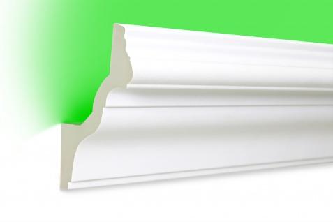 2 Meter | LED Profil | PU | stoßfest | Hexim | 130x100mm | LED-6 - Vorschau 1