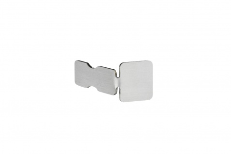 Abschlusskappe | Quadratprofil | Edelstahl | HEXIM | 10-12mm | HEX402