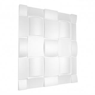 3D Paneele Sparpaket | Styroporplatten | Wandverkleidung | EPS | 60x60cm | Rubik