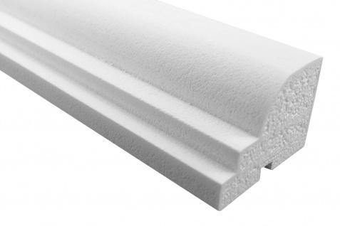 Fassade Außenstuck Gesims mit Ausprägung EPS PU stoßfest 70x100mm Sparpaket MC152