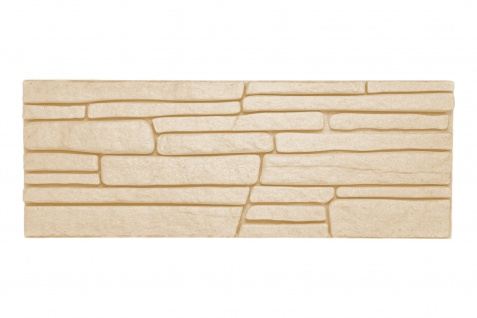 Dekorsteine | Steinoptik | Styroporplatten | Verblender | 48x18cm | Rock beige