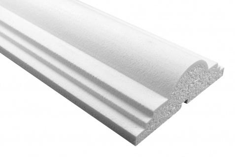 Fassade Außenstuck Gesims mit Ausprägung EPS PU stoßfest 60x180mm Sparpaket MC168