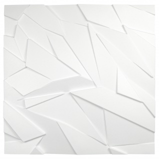 3D Wandpaneele Styroporplatten Wandverkleidung Wanddekor Paneel Sapphire 1 Platte - Vorschau 3