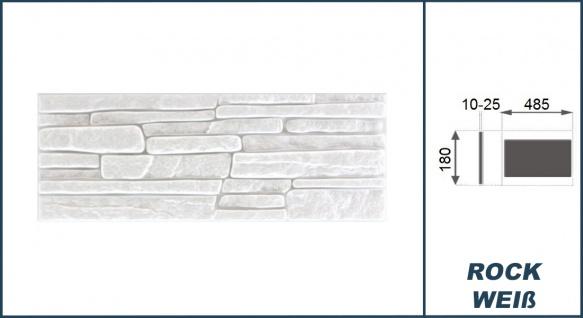 1, 04 qm Dekorsteine | Steinoptik | Styroporplatten | Verblender | 48x18cm | Rock - Vorschau 2