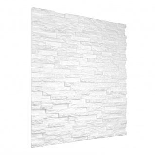 3D Paneele Sparpaket | Styroporplatten | Wandverkleidung | EPS | 60x60cm | Kamien