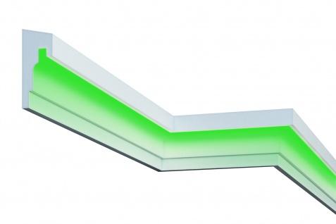 Fassadenleiste LED indirekte Beleuchtung stoßfest 75x180mm MC307