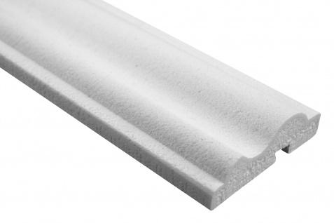 Fassade Außenstuck Gesims mit Ausprägung EPS PU stoßfest 30x100mm Sparpaket MC151