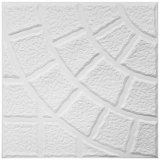1 qm Deckenplatten Polystyrolplatten Stuck Decke Dekor Platten 50x50cm Nr.115