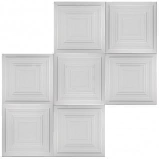 1 qm Deckenplatten Polystyrolplatten Stuck Decke Dekor Platten 50x50cm Nr.31 - Vorschau 2