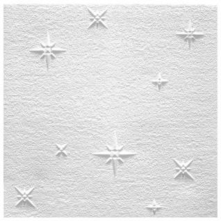 1 qm Deckenplatten Polystyrolplatten Stuck Decke Dekor Platten 50x50cm Zima