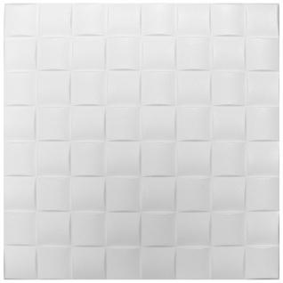 1 qm Deckenplatten Polystyrolplatten Stuck Decke Dekor Platten 50x50cm Nr.16