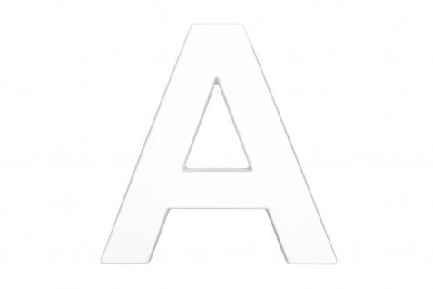 3D Buchstaben A bis Z PU Alphabet 20cm Wand Dekor ABC Schrift Design-Schriftzüge