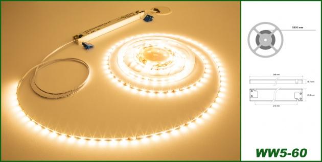 1 Set LED Stripe Streifen Leuchte Band inklusive Trafo Farbenauswahl Led Band60 - Vorschau 2