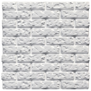 3D Paneel | Styroporplatten | Wandverkleidung | EPS | 60x60cm | Brick