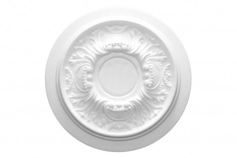 1 Rosette | Decke Stuck Innendekor EPS Dekor Marbet Durchmesser 34cm R-14