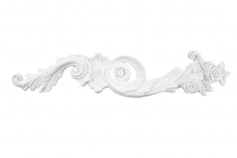 1 Ornament Dekorelement PU Stuckdekor Innen Wanddekor stoßfest 120x600mm, W866L/R