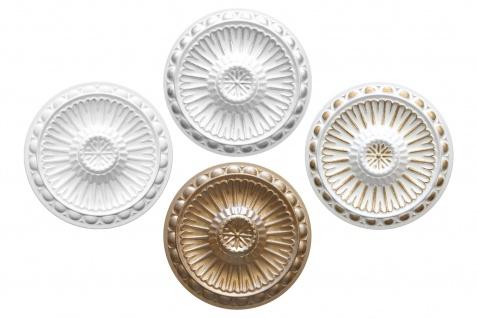 1 Deckenrosette Stuck Innendekor EPS Dekor Marbet Durchmesser 28cm R-16