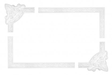 Wand- und Deckenumrandung   Fries   Stuck   Rahmen   stoßfest   AC204