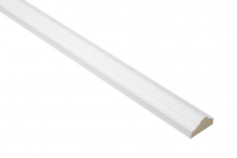 2 Meter Flachprofil und Segment Flachleiste PU stoßfest Grand Decor M1106