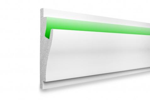1, 15 Meter LED Profil XPS Stuck Trockenbau Tesori 170x50mm KD403