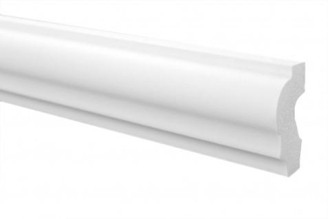 Stuckleisten Zierleisten Flachleisten stabil XPS Sparpaket Marbet 21x40mm E-19