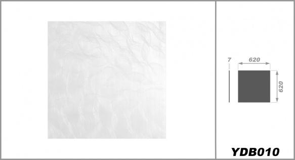 Rasterdeckenplatten 62x62cm, PVC Kunststoffplatten - foliert, wasserfest, stabil - Sparpaket - Vorschau 2