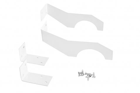 Halterung für Heizkörperverkleidung | Rippenheizkörper | Metall | lackiert | robust | 150x40 mm