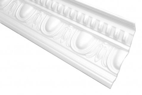 2 Meter Zierleiste Leiste Profil Deckenleiste Hexim 100x125mm M-27
