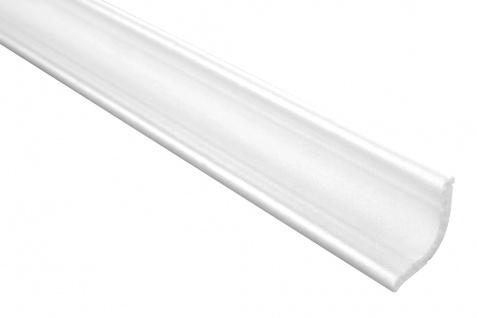 2 Meter | Eckprofil Polystyrolleiste Deckenleiste | Hexim | 35x35mm | M-03