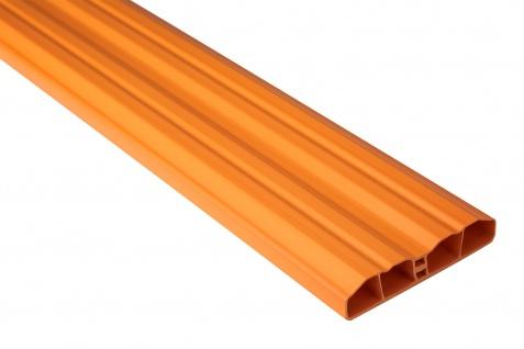 Zaunlatte PVC Garten Außenbereich Profile orange Sparpaket Hexim 80x16mm PZL-20