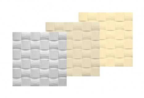 1 qm Deckenplatten Polystyrolplatten Stuck Decke Dekor Platten 50x50cm Len