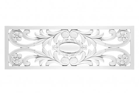 1 PU Dekoratives Profil Rahmen Wandtafel stoßfest Hexim 105x36cm FR8332
