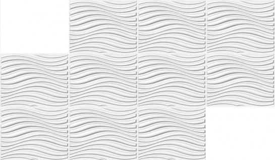 3D Platten Natur Stuck 3D Elite Panels Sparpaket 62x80cm Eleanor - Vorschau 3