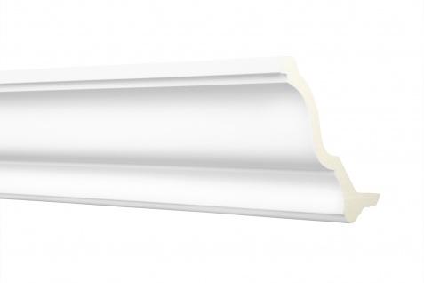 Stuckleisten LED Kantenabschluss Zierprofile PU Lichtvouten Deckensegel AE002