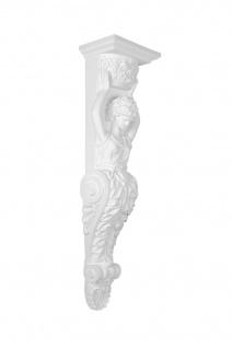 Konsole Wanddeko Stuck Wand Verzierung Antik Barock Dekor stabil 1020x266mm C8053